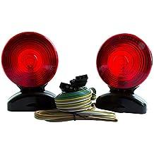 LED Volt Magnetic Towing Trailer Light Tail Light Haul Kit Complete Set Auto, Boat, RV, Trailer, etc.