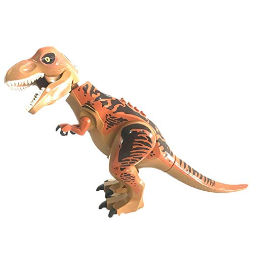 Blueyouth High Simulation Dinosaur - Hot Large Indominus Rex Dinosaur Toy Jurassic World Dinosaur Figure Blocks Static Dinosaur Figures Decoration Raptor Toys Set CE
