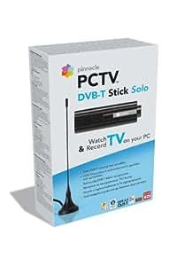 Hauppauge PCTV DVB-T STICK Solo 72e - Sintonizador de TV (DVB-T, 6 MHz, 42 - 860 MHz, MPEG 1 / 2, DivX, USB, 135 x 65 x 200 mm) Negro