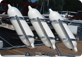 Taylor Made Products 3009 Stainless Steel Boat Fender Rack (7