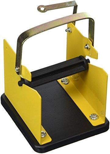 DealMux soldadura de estaño alambre dispensador Amarillo Negro ayuda del soporte del titular