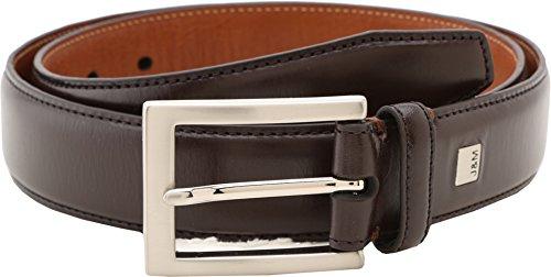 Johnston & Murphy Men's Dress Belt,Burgundy,Size 42 (Calfskin Belt)