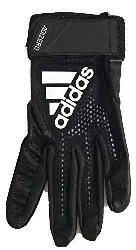 adidas Adizero 4.0 BTG (Black, Large) (Iv Adult Batting Gloves)