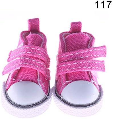 henreal 1/paio di scarpe in tela per bambole Toy Mini Doll Shoes per sharon Dolls stivali accessori 120