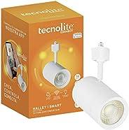 Lámpara LED para Riel Inteligente, Compatible Con Alexa, Spot Riel Inteligente, Compatible con Tecnolite Conne