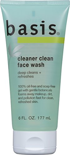 Clean Foaming Gel Cleanser (Basis Cleaner Clean Face Wash 6 Fluid Ounce (Pack of 3))