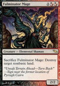 (Magic: the Gathering - Fulminator Mage - Shadowmoor)