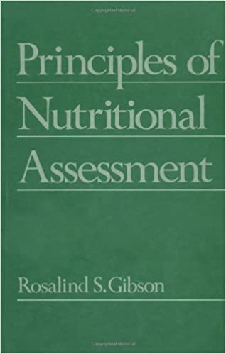 Book Principles of Nutritional Assessment