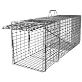 Raccoon Trap - Heavy Duty Live Humane - Single Trap Door - ( 10 x 12 x 32 ) T101232