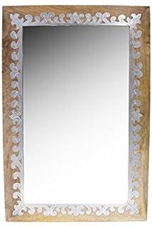 Green Spirit Wandspiegel Anthrazit 80 X 40 Cm Mit Elegantem Und