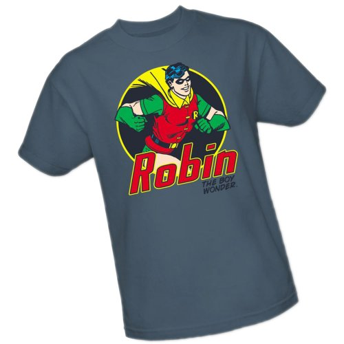 The Boy Wonder -- Robin -- DC Comics Adult T-Shirt, XXX-Large