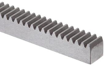 Boston Gear L5034 Rack Gear, 14.5 Degree Pressure Angle, 32 Pitch, 4.0 feet long, Steel