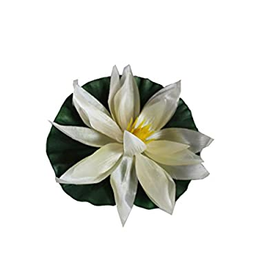 Noble Wolf Floating Pond Decor Decoration Lily Flowers Plants Water Lillies : Garden & Outdoor