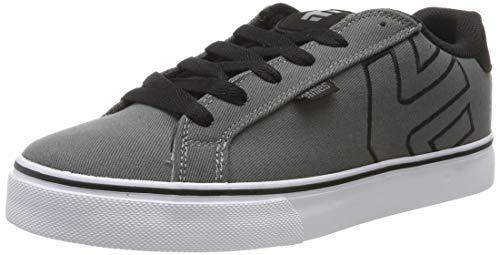 - Etnies Men's Fader Vulc Skate Shoe, Dark Grey/Black, 12 Medium US