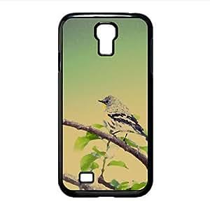 Small Gray Bird Watercolor style Cover Samsung Galaxy S4 I9500 Case (Birds Watercolor style Cover Samsung Galaxy S4 I9500 Case)
