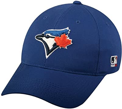 Toronto Blue Jays YOUTH (Ages Under 12) Adjustable Hat MLB Officially Licensed Major League Baseball Replica Ball Cap by OC Sports Outdoor Company