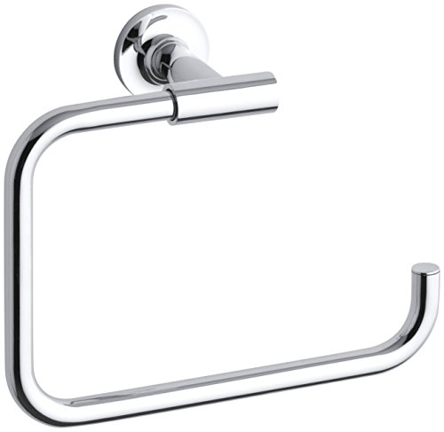 KOHLER K-14441-CP Purist Towel Ring, Polished - Purist Towel