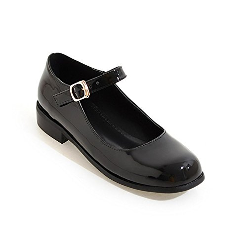Jerald Logan Flat Shoes Women Patent Leather Women Flats