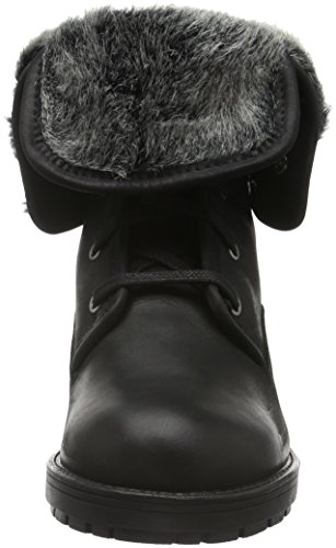 Black para Biker Leather Mujer Botas Clarks Reunite Up GTX Negro xwHqBg8f