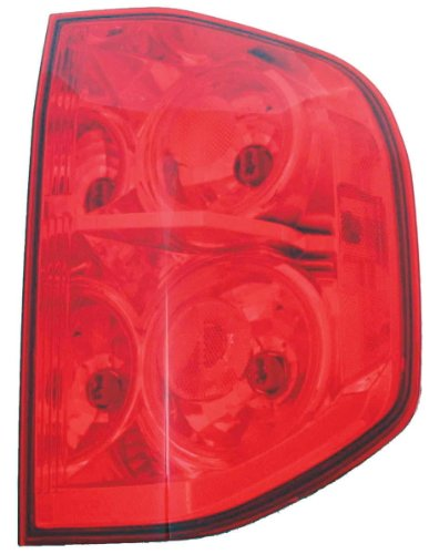 TYC 11-5899-00 Honda Pilot Passenger Side Replacement Tail Light - 00 Pilot Light