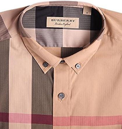 Burberry - Camiseta de manga larga - para hombre camel L ...