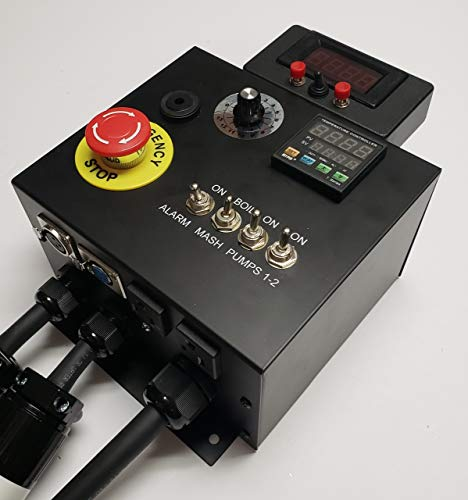 240v HERMS II (Heat Exchanged Recirculating Mash System) Home Brewery Controller by BREW-CONTROL (Image #3)