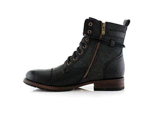 Fjällräv Kanye Mpx808578 Snygga Mens Boots För Arbete Eller Wasual Bära Svart