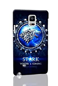 Game of Thrones Durable Hard Snap On 3d Case Cover for Samsung Galaxy Note 4, Ebrain 3D Case WANGJING JINDA