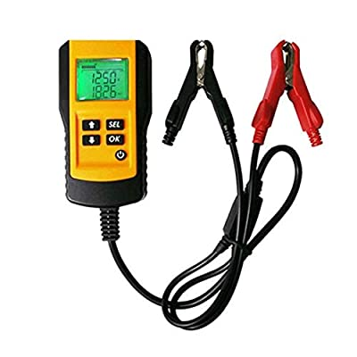 Cimic 12V Vehicle Car Digital Battery Test Analyzer LCD Display Automotive Battery Load Tester Accurate Diagnostic Tool