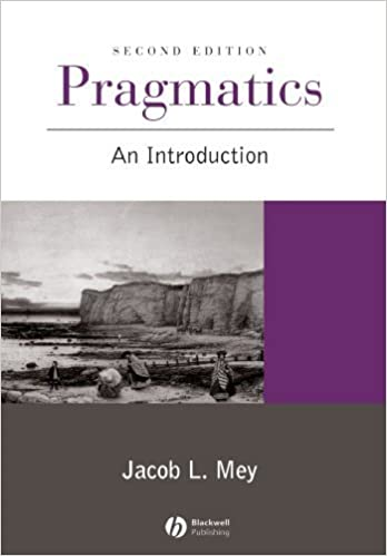 Book Pragmatics: An Introduction 2nd edition by Mey, Jacob L. (2001)