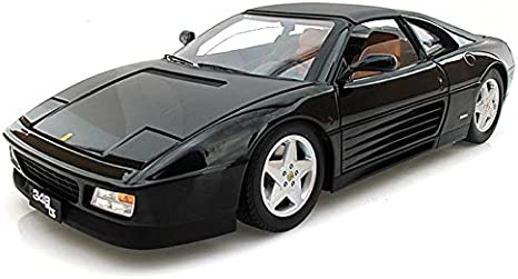 Amazon Com Ferrari 348 Ts Elite Edition Black 1 18 By Hotwheels X5481 Toys Games