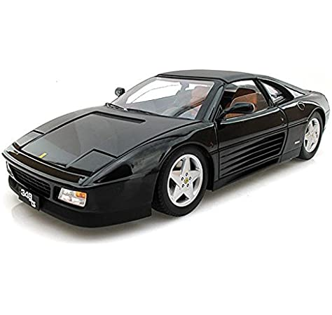 1:18 Hot Wheels Ferrari 348tb Coupe black