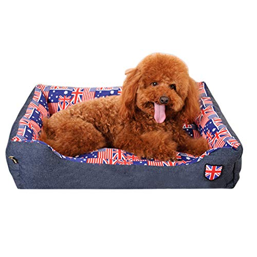 Jzenzero Pet Bed Ultra Soft Washable Donut Cuddler Pet Bed Cushion for Pets Dogs Cats (Waterproof Furniture Uk For Outdoor Cushions)