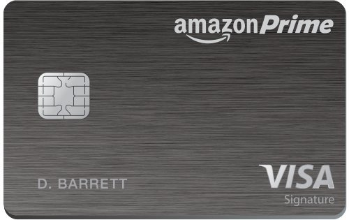 AmazonCom Amazon Prime Rewards Visa Signature Card Credit Card
