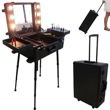 Studio TrolleyTable Valise Make Maquillage AmpoulesNoire De Up CedxorB