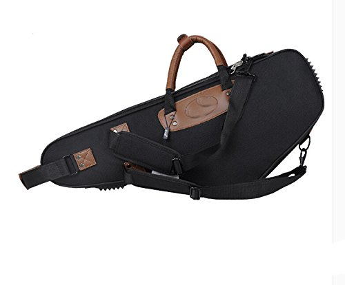 Aibay Alto Saxophone Case Water-resistant Oxford Cloth Bag Saxophone Backpack