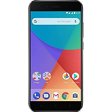 "Xiaomi Mi A1 Dual SIM 4G 32GB Black - Smartphones (14 cm (5.5 ""), X pixels 1920 1080, GB 32, 12 MP, Android, Black)"