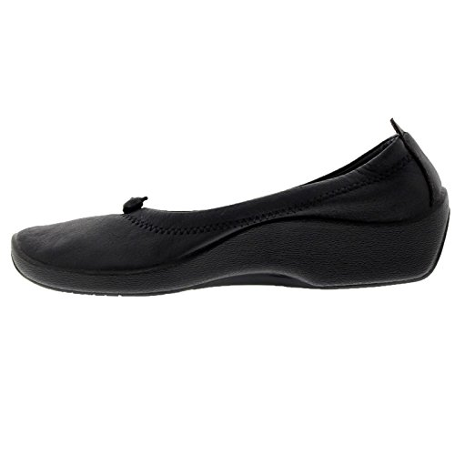 Arcopedico Womens L1 Textile Shoes Black grxby2PGge