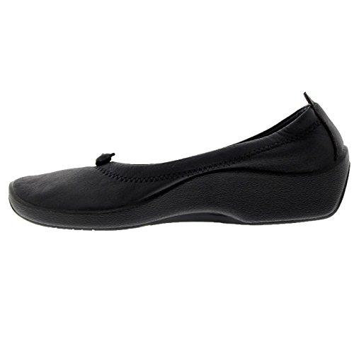 Womens L1 Textile Arcopedico Black Shoes Pdzxfqx8w