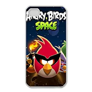 iphone4 4s phone cases White Angry Birds cell phone cases Beautiful gifts YWLS0467062