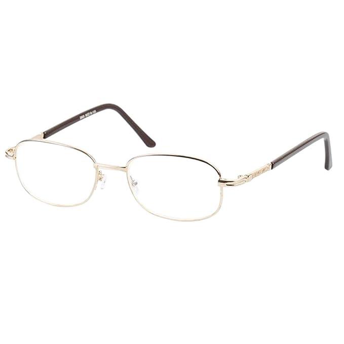 Zhuhaixmy Lesebrille Extra Stark Glas Glasur Linse Metall Rahmen Anti-Müdigkeit Lesen Brille 4.5 5.0 5.5 6.0 RU3UTMzB