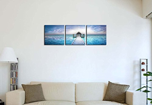 3-Pieces-Modern-Canvas-Painting-Wall-Art-The-Picture-For-Home-Decoration-Awesome-Dreamy-Sunset-Over-The-Jetty-In-The-Indian-Ocean-Maldives-Seascape-House-Print-On-Canvas-Giclee-Artwork-For-Wall-Decor