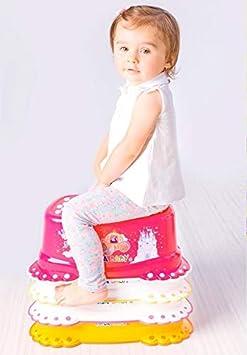 Baby Hocker Kindertritt Trittschemel ab ca 3 Jahre Tega Baby /® Tritthocker f/ür Kinder Schemel mit Anti-Rutsch-Funktion Sicher Stabil und T/ÜVRheinland-gepr/üft Motiv:B/ärchen wei/ß