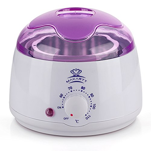 Makartt Hair Removal Wax Warmer Melter Heater Electric 14 oz Waxing Depilatory Machine For Facial Skin Body Hand Foot Leg Hair Remover