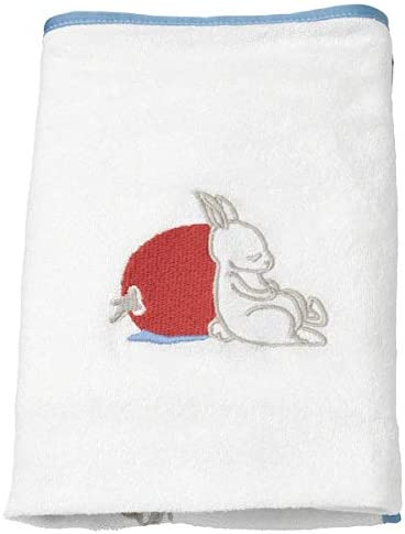 48x74 cm + Top Quality Soft Cover for babycare mat Rabbit Pattern A Free Pen White