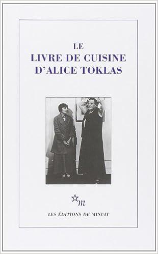 Le Livre De Cuisine Alice Toklas Francoise Collin Claire