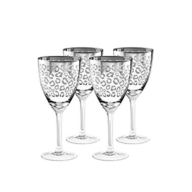 Artland Inc. Leopard Wine Glasses - Set of 4