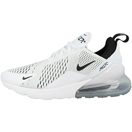 Nike Women's Air Max 270 White/Black/White (AH6789 100) - 7