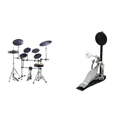 トレーニングドラムセット MX-568A & 2BASS KIT BD-786B