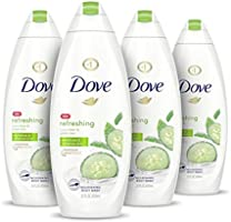 Dove Body Wash For Dry Skin Deep Moisture Gentle Bodywash, 22 Fl Oz